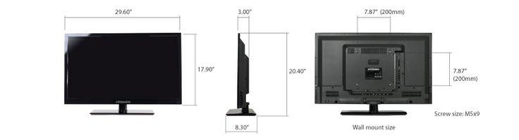 oCOSMO CE3200 32-Inch 720p 60Hz LED HDTV   Gadget World Store