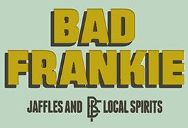 Bad Frankie - jaffles and local spirits. Home of the original Lamington Jaffle!