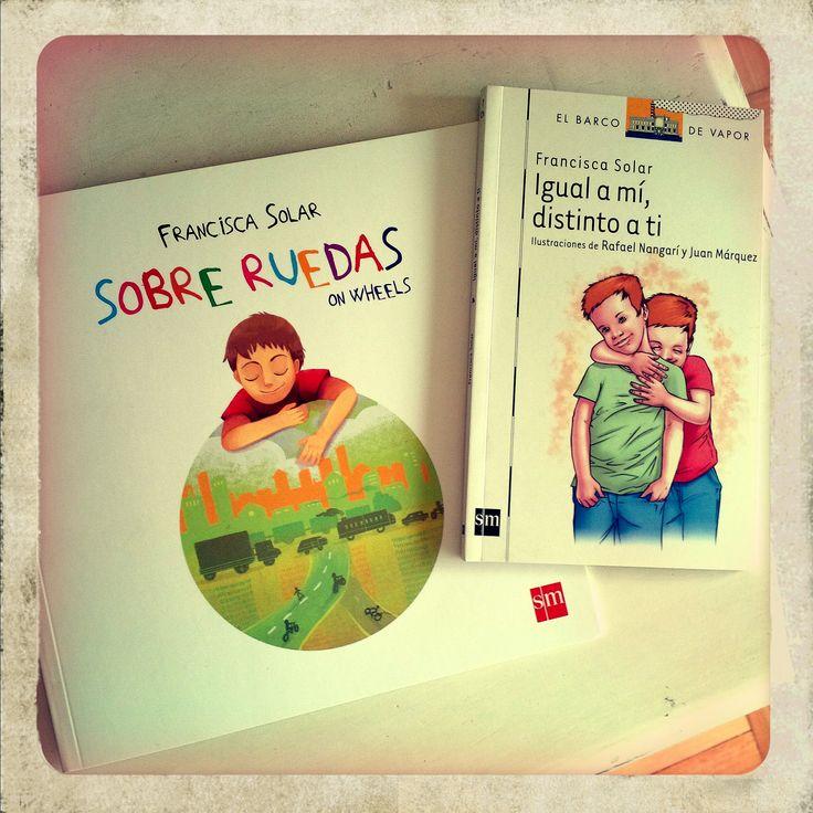 """""""Sobre Ruedas"""", mi segundo libro infantil sobre un niño con alguna discapacidad. El primero fue """"Igual a mí...""""."""