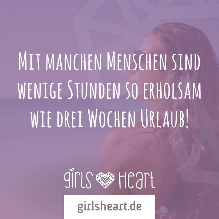 Mit den richtigen Menschen kann selbst Alltag wie Urlaub sein!  Mehr Sprüche auf: www.girlsheart.de  #urlaub #freunde #freundinnen #familie #arbeit #kollegen