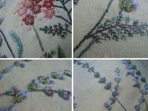 Ботаническая вышивка: от стежков к шедеврам - Ярмарка Мастеров - ручная работа…