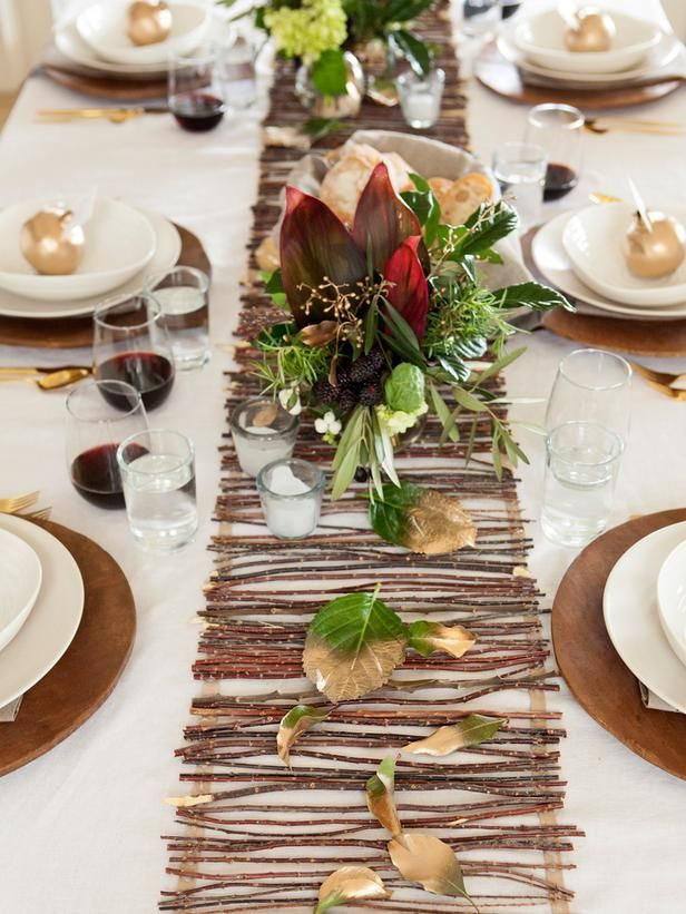 20 thanksgiving table setting ideas and recipes - Thanksgiving Table Settings Pinterest