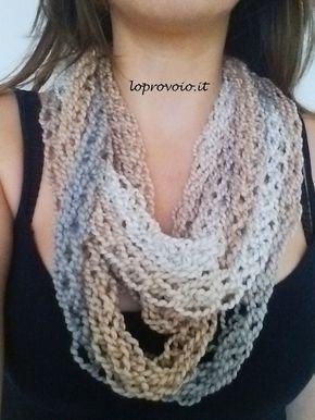 Ecco un modo divertente per lavorare la maglia senza ferri ma con le dita!!! Altri progetti su http://loprovoio.blogspot.com/