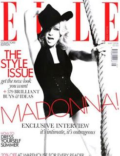 Mischo Beauty: Madonna's ELLE Magazine Covers | Mischo Beauty
