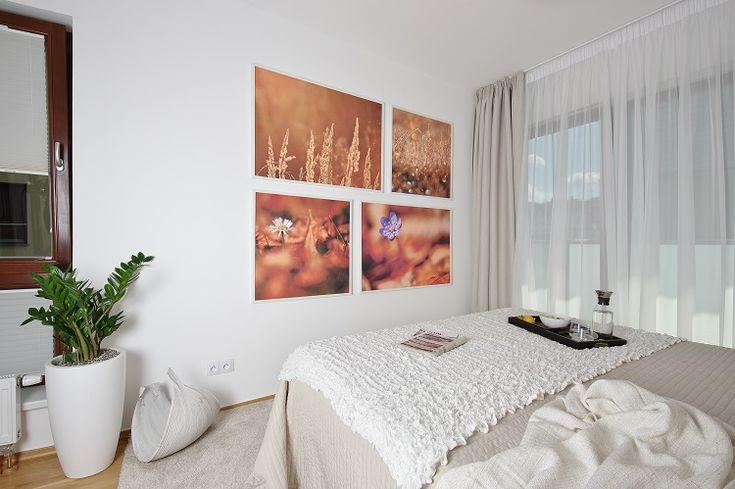 bedroom, pictures, flower, decoration, flat