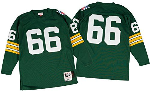 Ray Nitschke Green Bay Packers Authentic Jerseys