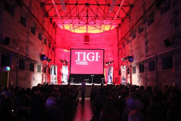 Photos from Monday's Tigi Collection Launch #tigi #haircare #collection #productlaunch #brand #cellblocktheatre