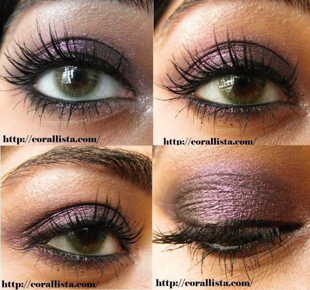 Smokey purple with MAC Young Punk