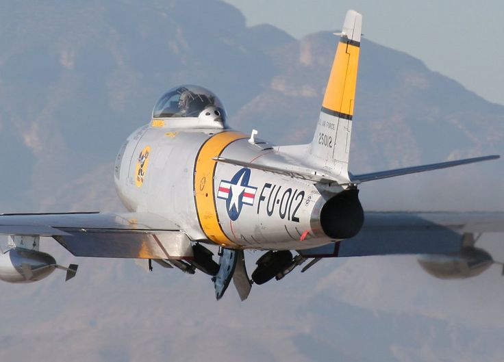 It is impossible to see too many pictures of a Sabre. North American F-86 Sabre