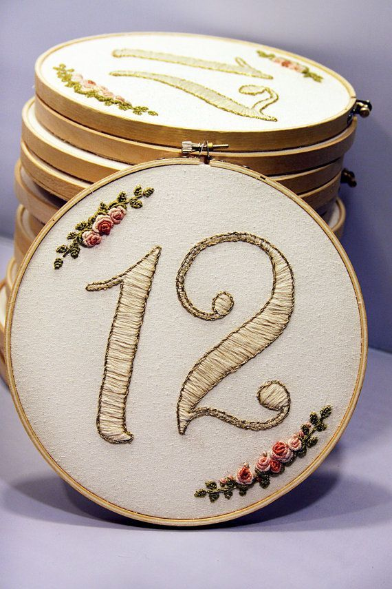 1000 Images About Embroidery Hoops For Wedding