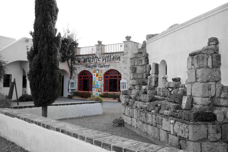 #Artistic Village Contemporary Art #Rhodes #Greece #handmade #gallery #factory #original #unique#artworks#ceramics#sculptures#paintings
