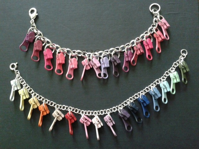 Zip charms