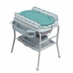 BAÑERA Y CAMBIADOR CHICCO: confort y practicidad para la higiene de tu hijo. Suave reductor extraíble para total confort. Bañera ergonómica de fácil y compacto plegado.