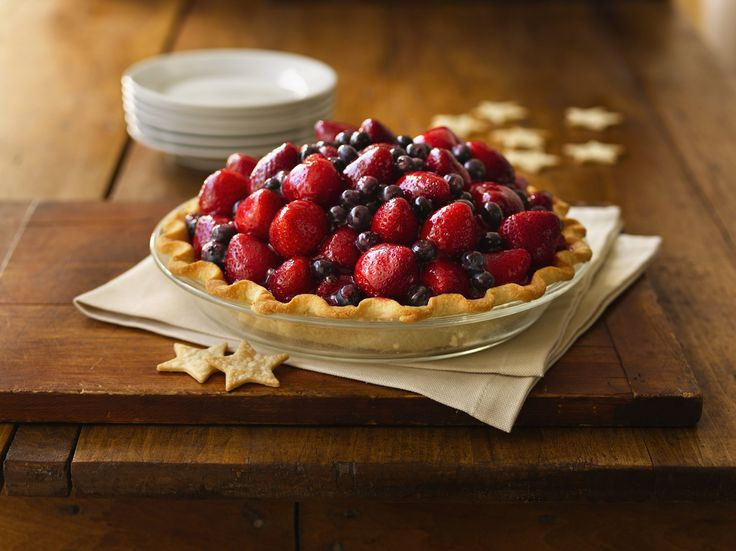 Red white blue, Pies and To the on Pinterest