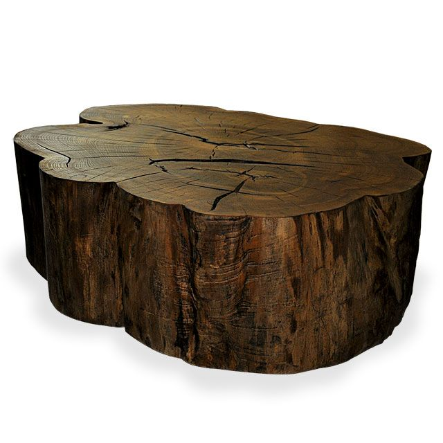 Used Solid Wood Coffee Table: 1000+ Ideas About Log Coffee Table On Pinterest