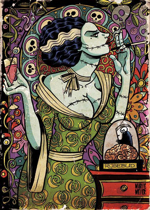 Frankenstein Bride By Marie Meier