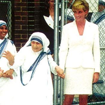 Lady Di and Mother Teresa