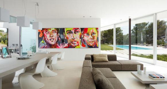 Decor with art