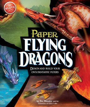 Make 12 dragons and send them soaring! Punch out and construct flying model dragons then customise your high-performance flyer with tips from aerodynamic experts.  ISBN: 9780545449366