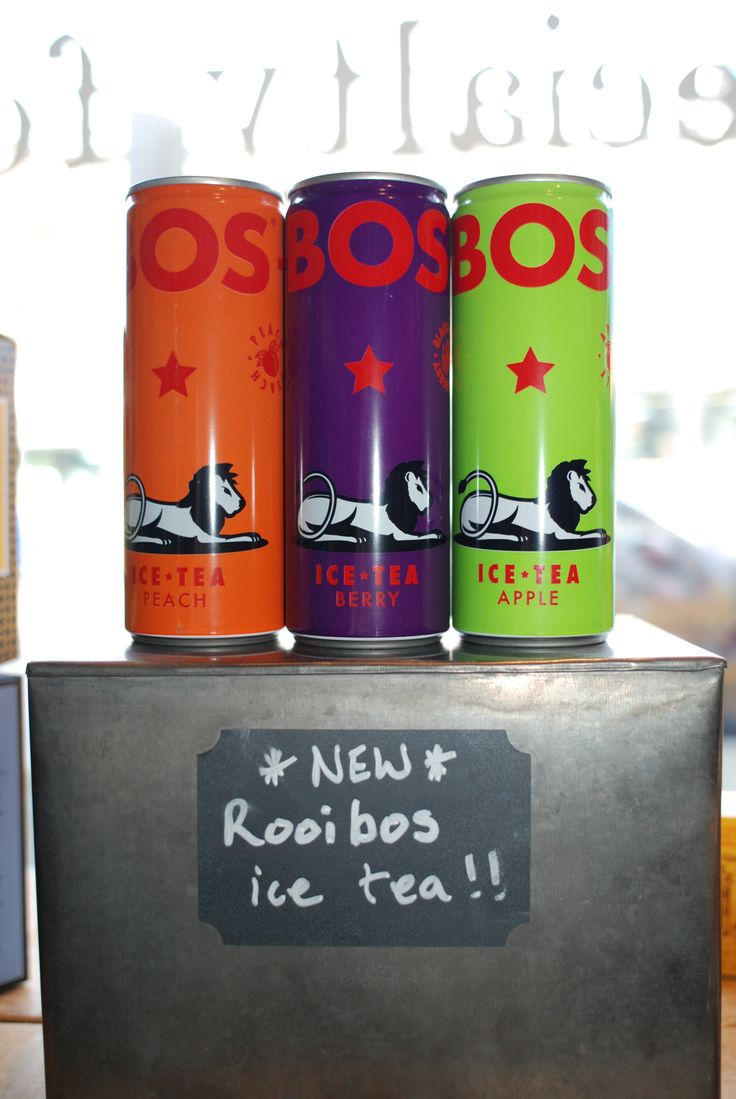 Due to popular demand we now carry BOS rooibos ICED Tea! Get the same great health benefits of Rooibos tea in 3 refreshing flavours - Peach, Berry, & Apple!!