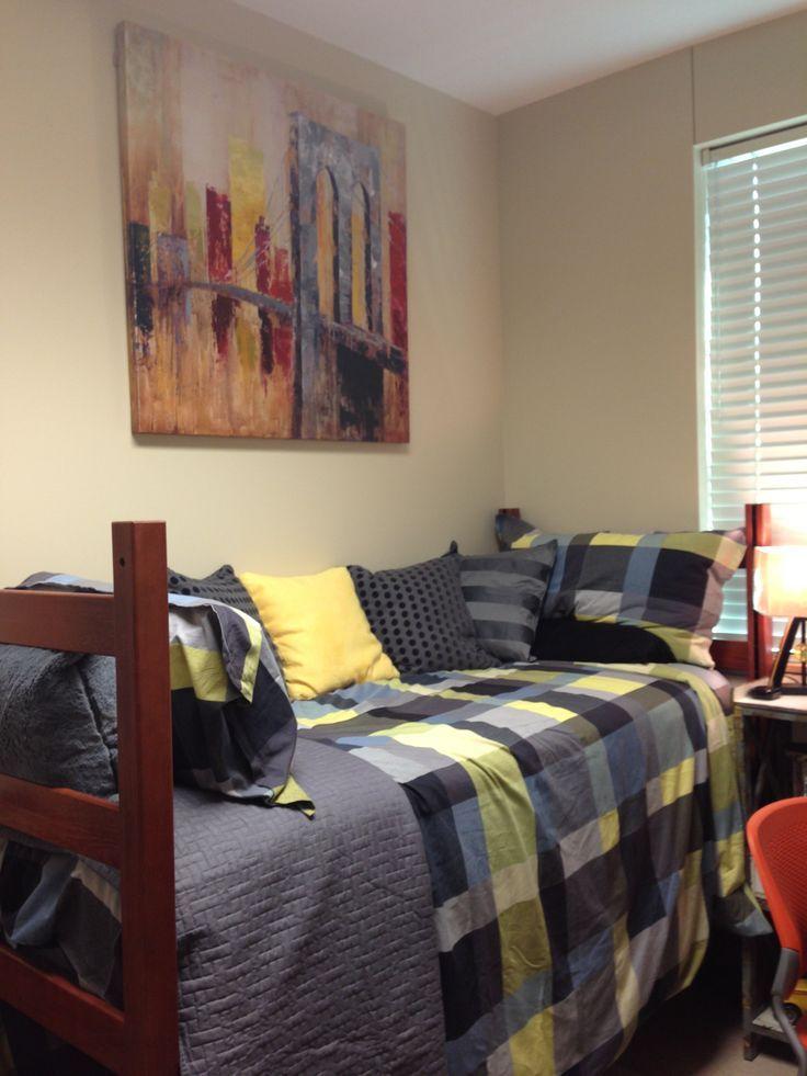 Boyu0027s Dorm Room : Yellow And Gray Part 39