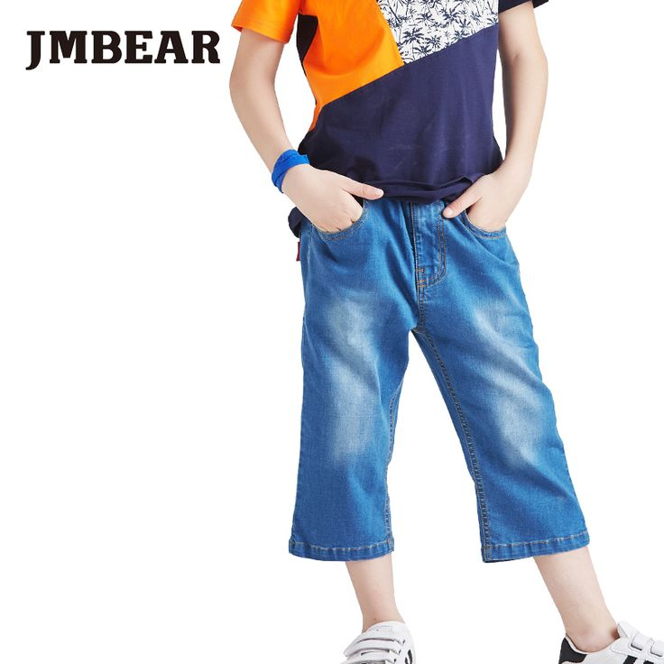 Cheap shorts silk, Buy Quality jeans shorts pants directly from China shorts cuff Suppliers: JMBear Brand 2016 fashion jean shorts for kids causal pants boys children solid pattern type slacks for babyUSD 29.30/pi