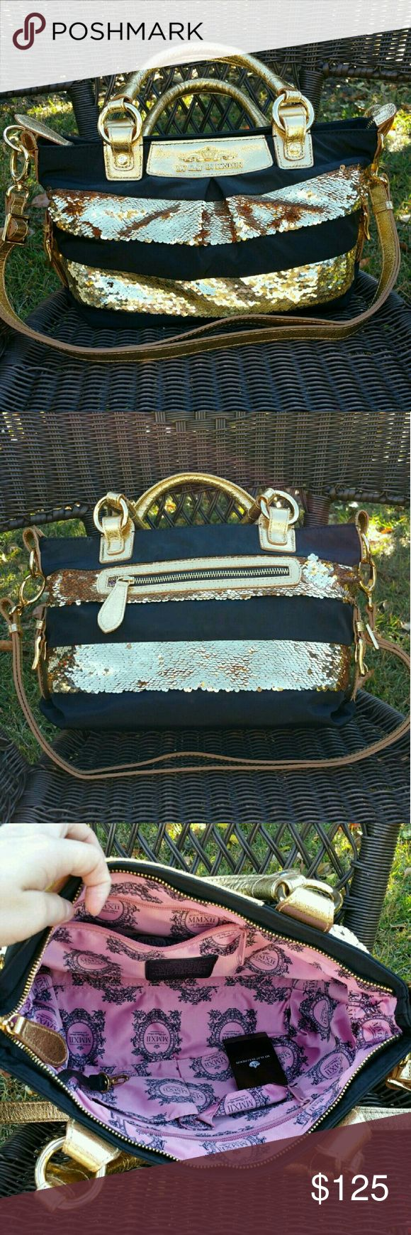 Brighton My Flat in London Gold Briget Pre owned In Excellent Condition Brighton My Flat In London Bridget Handbag with White Brighton Dust Cover. Handbag is like new.  No international shipping, only US.  Comes from non smoking home.  Please ask any questions. Brighton Bags Shoulder Bags