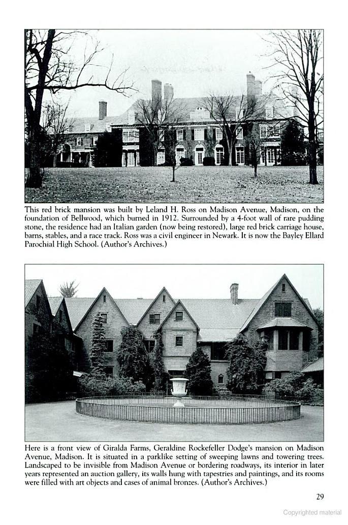Geraldine Rockefeller Dodge S Quot Giralda Farms Quot Madison Nj