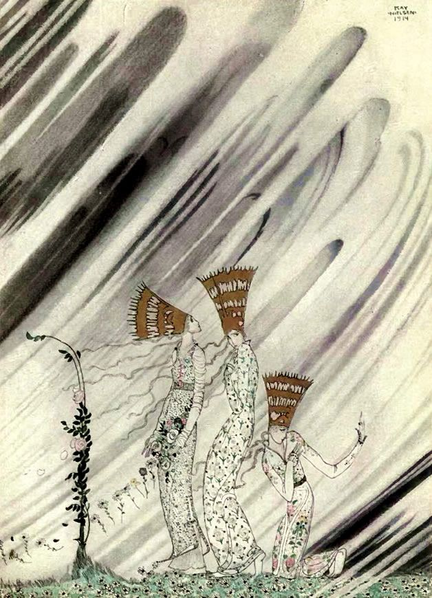 Kay Nielsen Week Tuesday - Arabian Nights - Nos 10 & 11