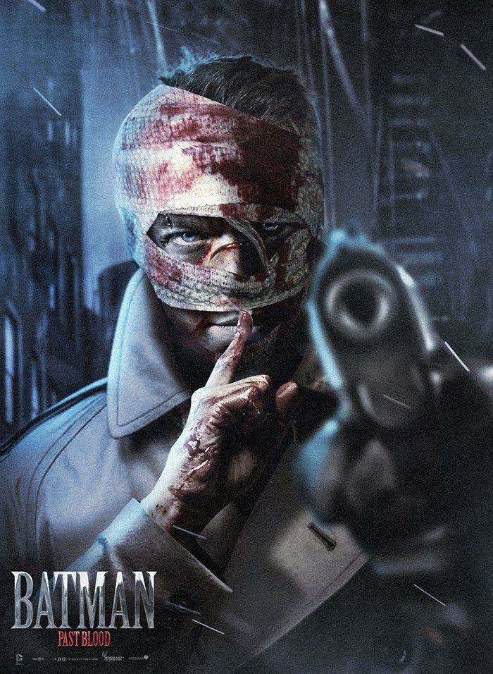 Boss Logic's Photoshopped Version of Batman Villain Hush portrayed by Matt Damon <3 love this idea