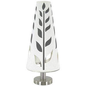 Leaf Table Lamp Brushed Nickel