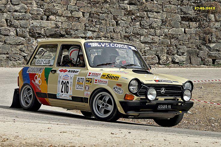 """Autobianchi A112 Abarth @ """"4° Valsugana Historic Rally"""""""
