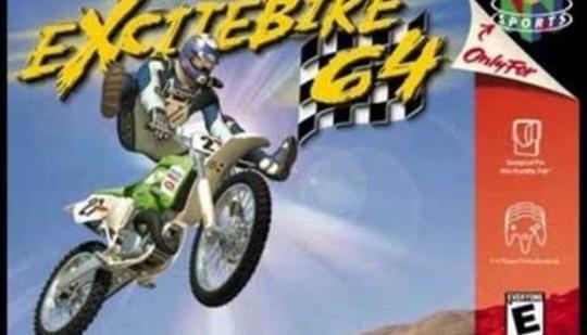 Excitebike 64 Wii U Virtual Console footage