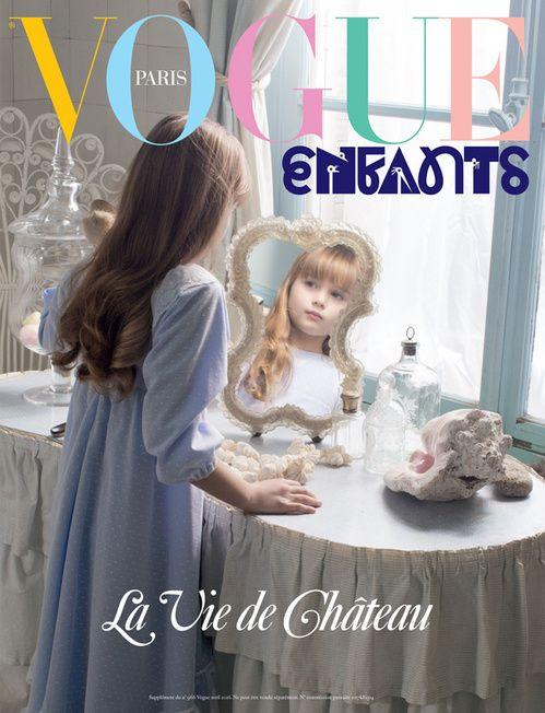 La Vie de Château , le supplément Vogue Enfants du numéro d'avril 2016 de Vogue Paris