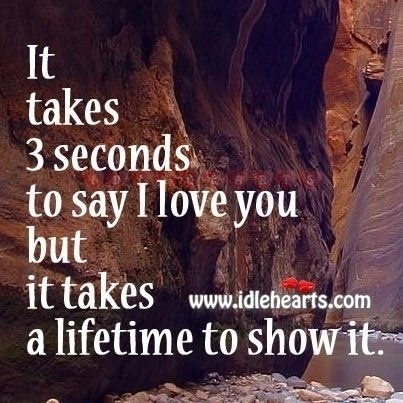 To Show You I Love You Quotes : ... show it. Life Quotes & Russian quotes Pinterest Say I Love You