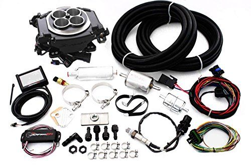 Holley Black Sniper EFI Fuel Injection System Complete Master Kit. For product info go to:  https://www.caraccessoriesonlinemarket.com/holley-black-sniper-efi-fuel-injection-system-complete-master-kit/