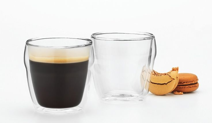 Symphony Cafe Double Wall Latte Set of 2