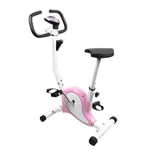 Homgrace Adjustable Gym Bike Gym Fitness Cardio Workout Machine Weight Capacity 100kg--43.99
