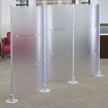 Office Cubicle Partitions | Modern Modular Partition Systems | NBF.com
