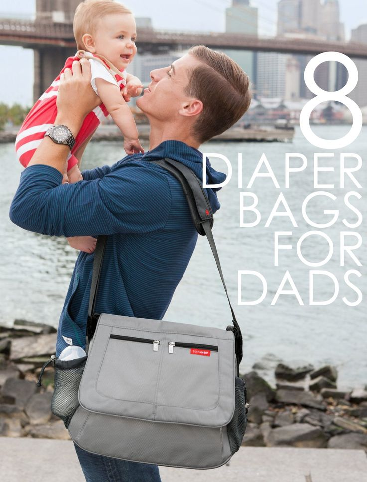 8 Diaper Bags That Dad Won't Be Embarrassed to Carry! Great Father's Day gift ideas!