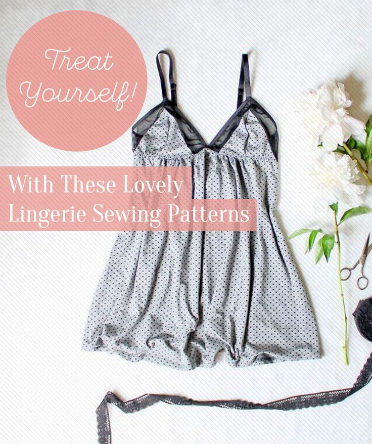9 lovely lingerie sewing patterns.   Romper, lacey undies, slips, cami knickers etc - a guide to sewing lingerie and a mesh bag to wash them in.