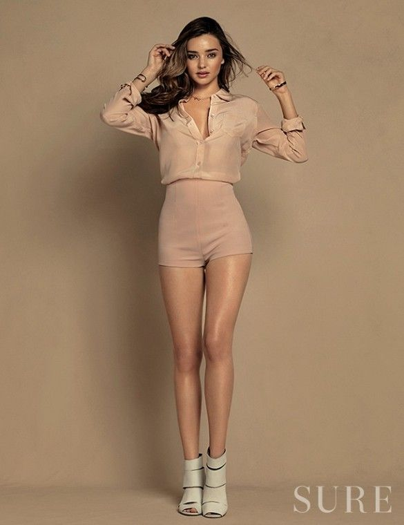 Miranda Kerr For Sure Magazine