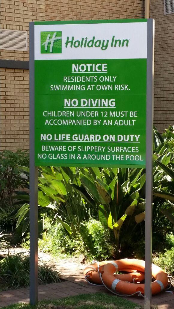 Holiday Inn Information Board #hotel #design #sign #information #outdoor