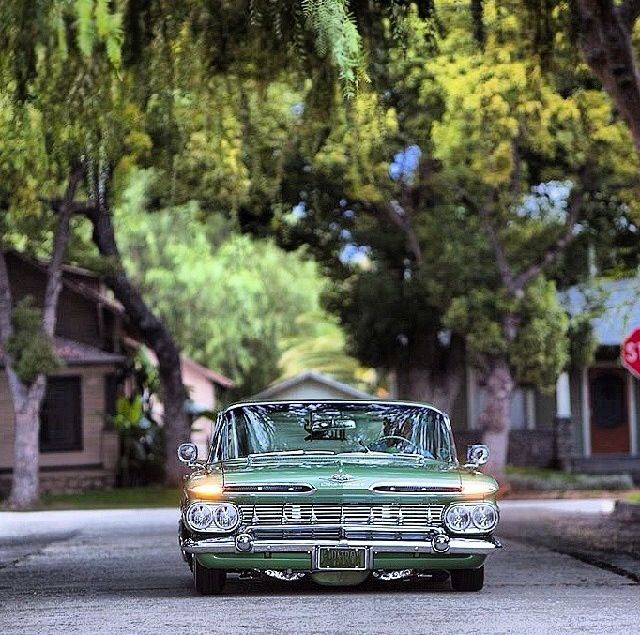 59 Chevrolet Impala..Re-pin..Brought to you by #agentsofInsurance at #HouseofInsurance in #EugeneOregon 97401, 97402, 97403, 97404, 97405
