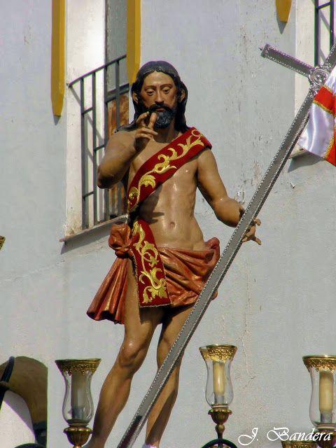 Las Fotografías de Bandera: El Cristo Resucitado de La Algaba