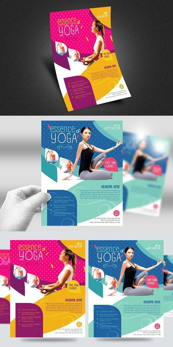 214 best Yoga Business Card Design images on Pinterest | Business ...