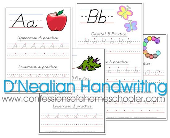 Happy New Year everyone! I thought I'd kick off the new year with a highly requested freebie download for you all! After publishing my K4 Handwriting Worksheets (manuscript) and my Cursive Handwriting Worksheets, I've had several requests for D'Nealian Handwriting worksheets, so here they are!   As usual, you can print on copy paper…Read More