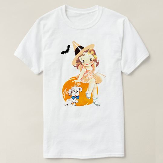Halloween Baby Girl Custom Shirts