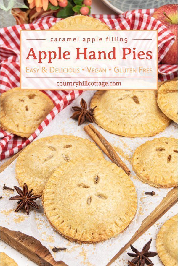 Apple Hand Pies Easy Vegan Gluten Free Recipe Recipe In 2020 Gluten Free Hand Pie Apple Hand Pies Vegan Gluten Free