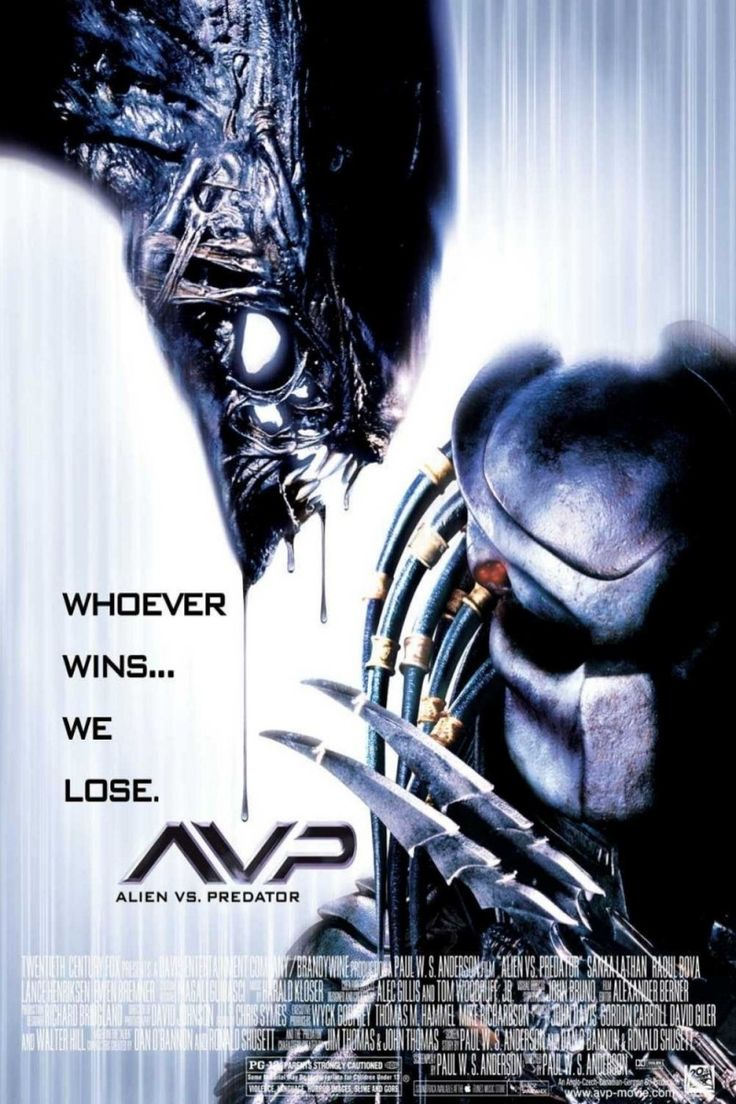 AVP: Alien vs Predator movie poster love alien he is totes adorbz XD... im demented ok.... i got a beastly mind